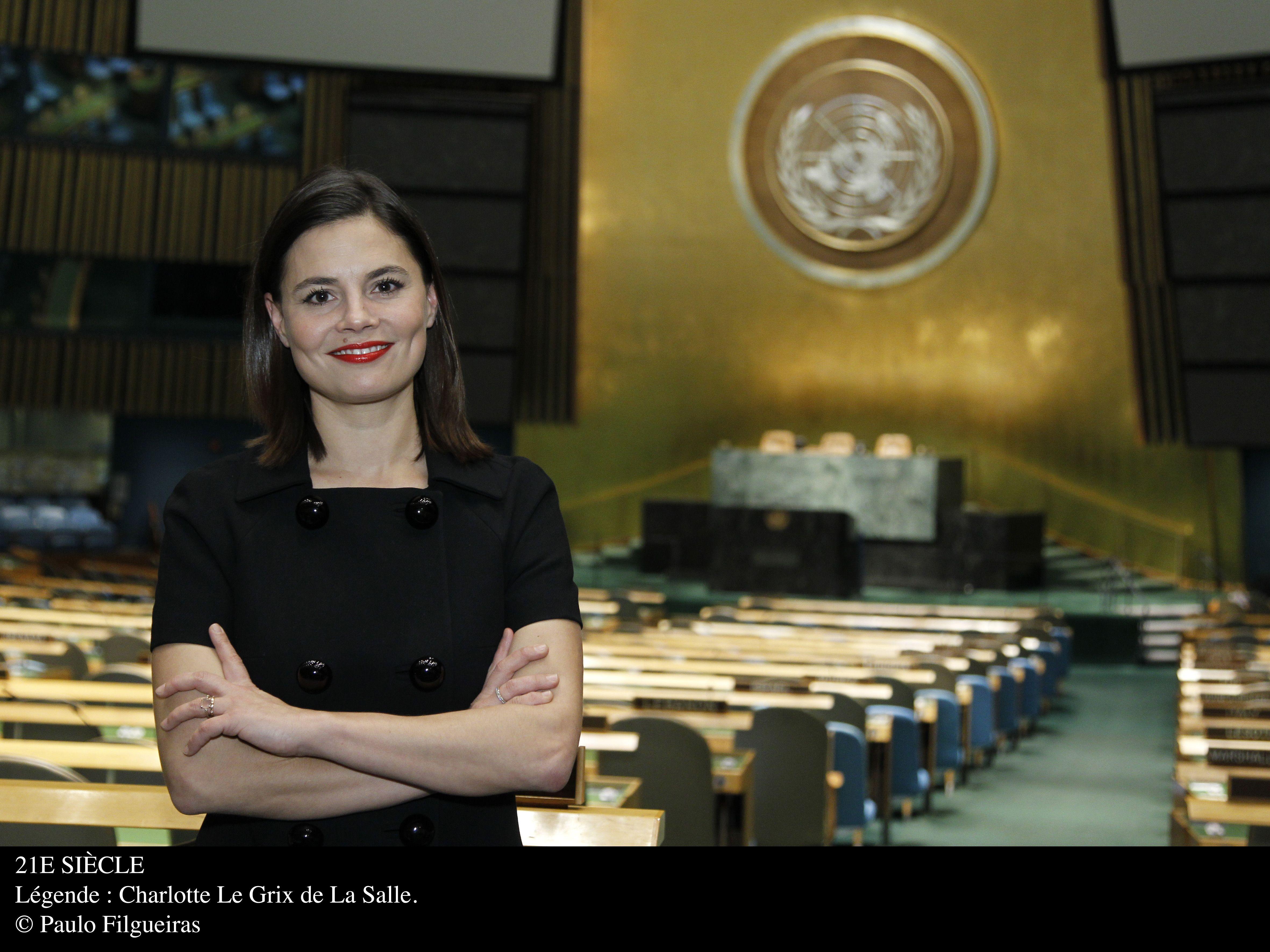 La journaliste Charlotte Le Grix de la Salle présente ce nouveau rendez-vous en français depuis le siège de l'Organisation des Nations Unies à New York.