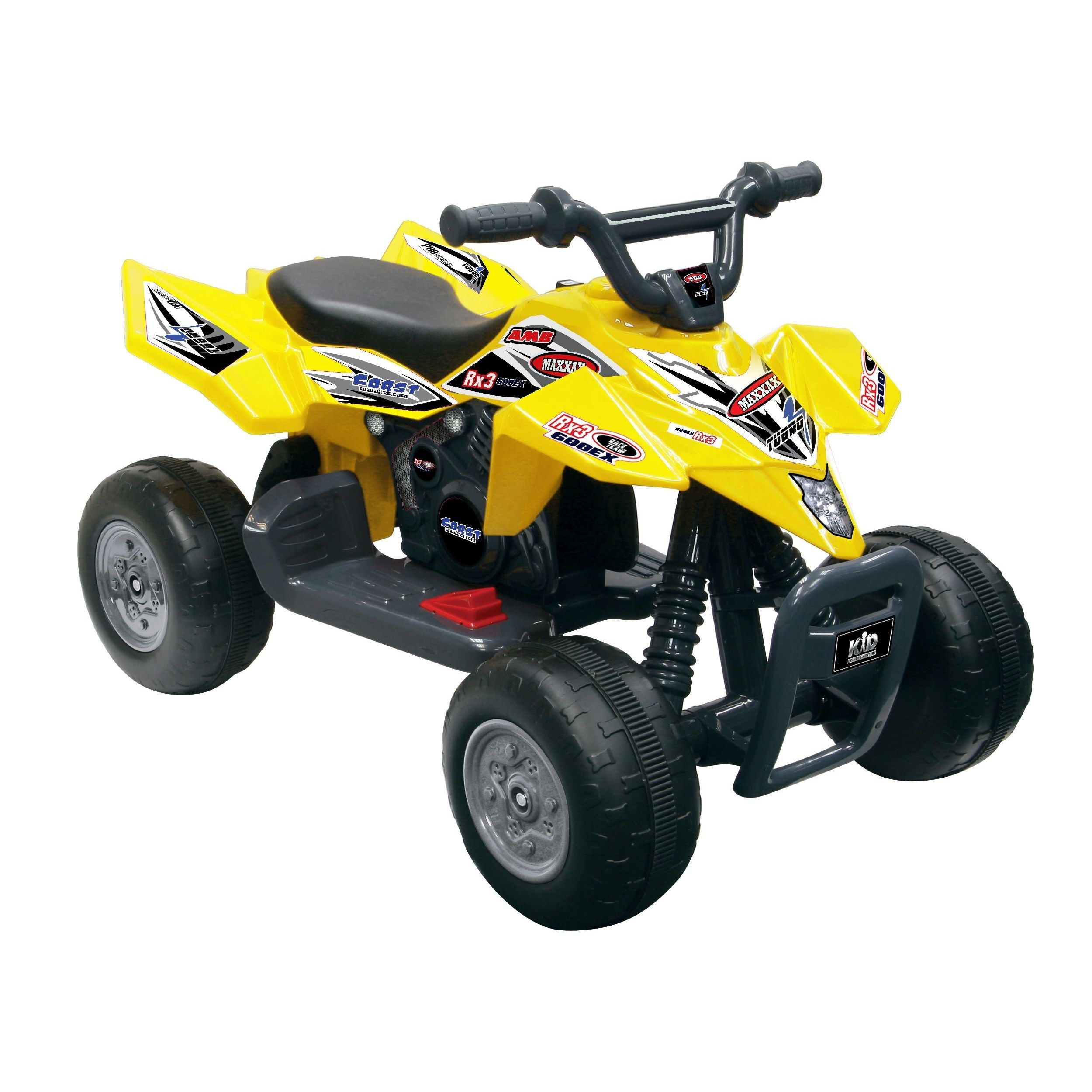 1eb4f835852b1 Kid Motorz Quad Racer 6-Volt Battery-Powered Ride-On - Yellow