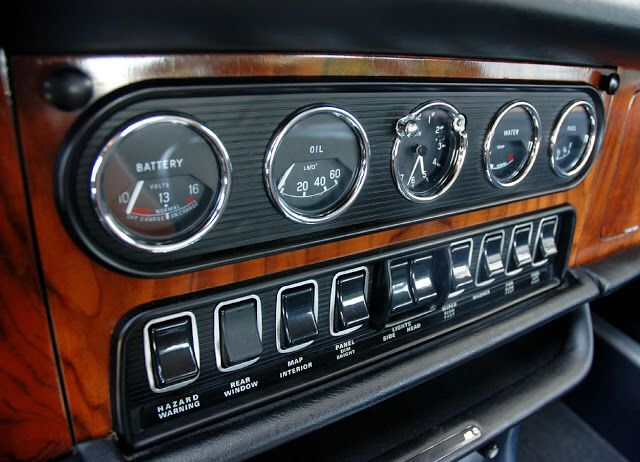 Xj6 Series 1 Dashboard With Images Jaguar Classic Cars
