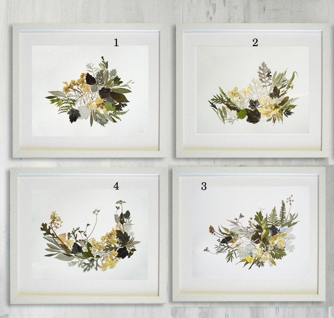 Poodle pressed flowers artwork Framed art Dog art Botanical Plant ...