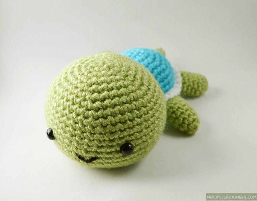 Amigurumi Turtle Pattern : Turtle amigurumi by mochillery viantart on deviantart o my