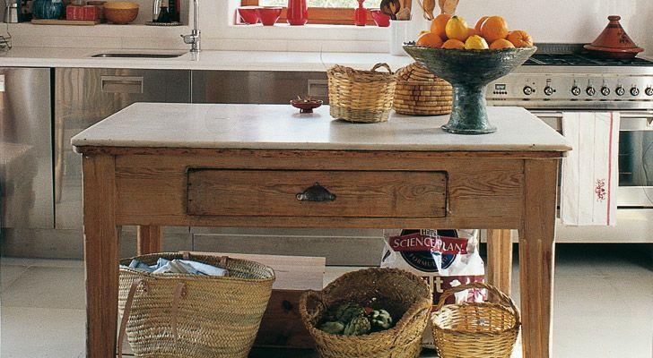 C mo restaurar una mesa tocinera mobiliario pinterest for Como pulir una mesa de marmol