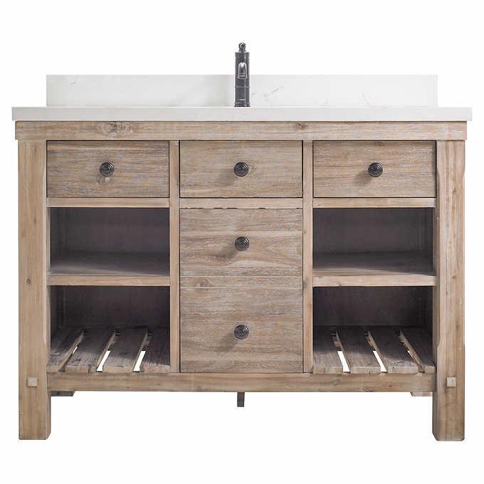 Elbe Rustic 48 Single Sink Vanity By Northridge Home With Images