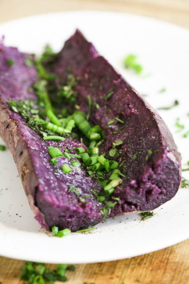Baked Purple Sweet Potato Recipe Sweet Potato Recipes Sweet Potato Purple Sweet Potatoes