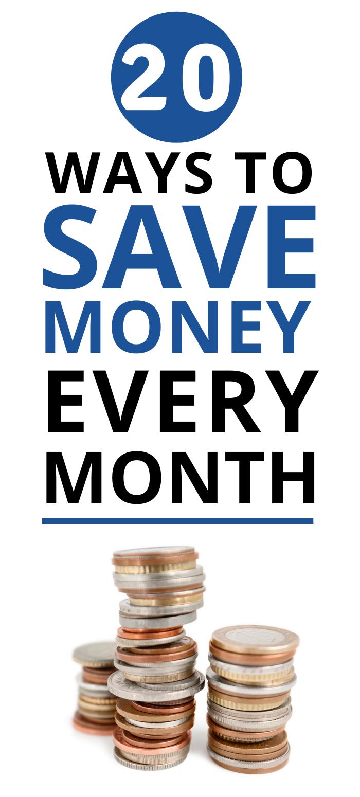 Save Money Every Month Money Saving Strategies Saving Money Ways To Save Money