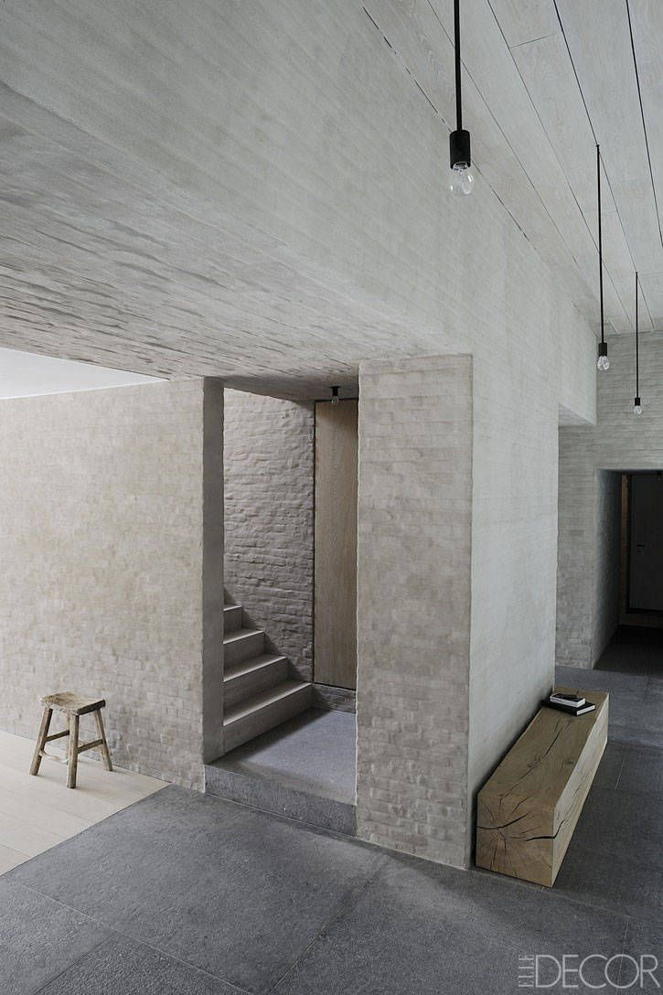 architect Vincent Van Duysen, a centuries-old farmhouse in the ...