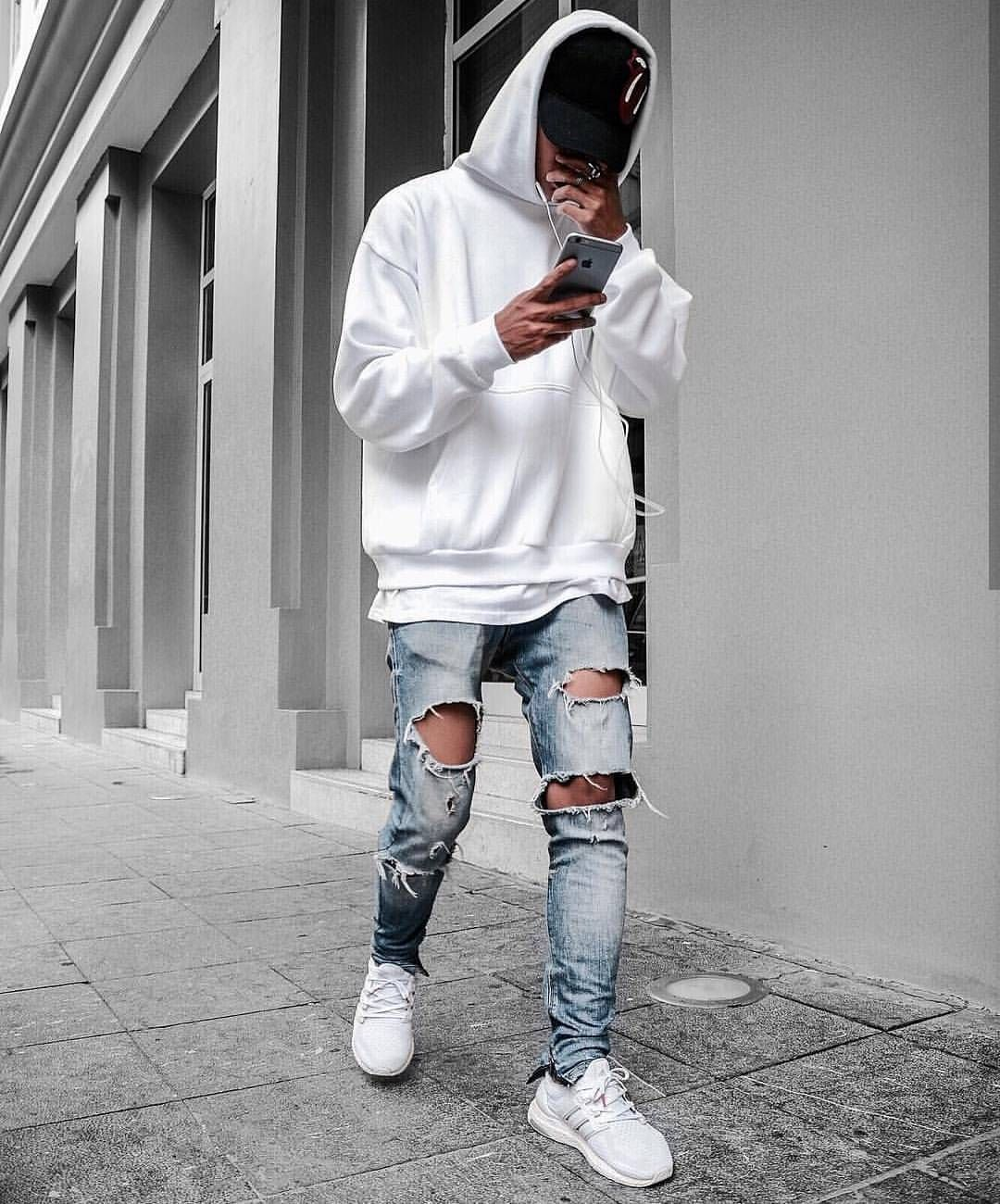 FOR YOUR INSPIRATION fashion style street streetwear ripped ripped  urban stylish savage look inspiration fashionlover fashiorismo jeans  shirt