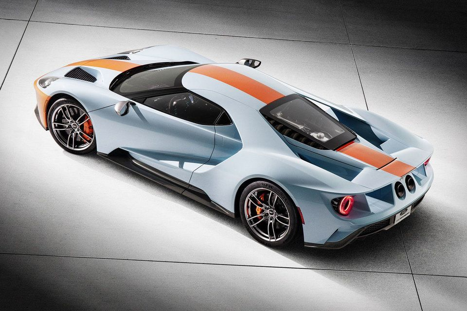 2019 Ford Gt Gulf Heritage Edition Vin 001 Ford Gt Best
