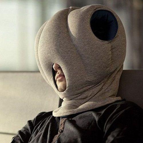 Portable Flexible Ostrich Shaped Pillow