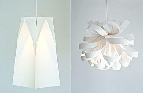 10 idee per realizzare una lampada fai da te; riciclare creare