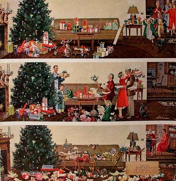 *Christmas morning...Ben Kimberly Prins (1902 -1980)