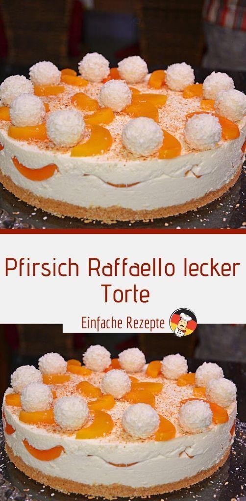 Photo of Peach Raffaello delicious cake Sprainnews