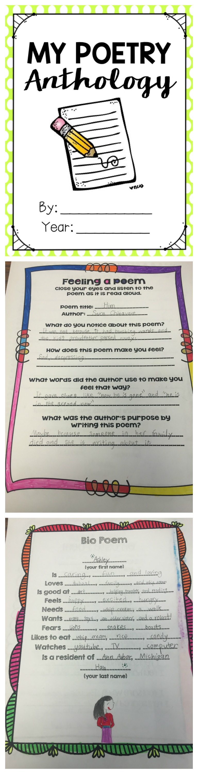 Poetry Unit for Poetry Month!