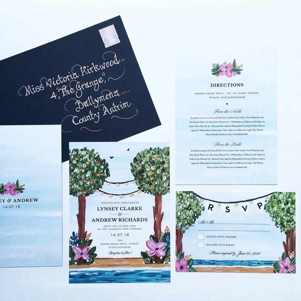 Wedding Invitations Greeting Cards And Personalised Stationery Designed And Printed In Belfast Northern Ireland