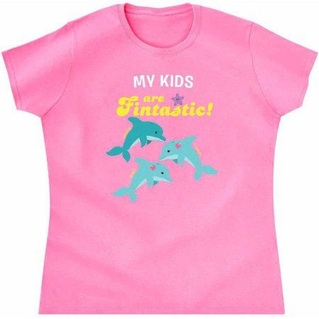 Personalized Fabulously Fintastic T-Shirt, Available in Multiple Sizes, Men's, Size: Medium, Multicolor
