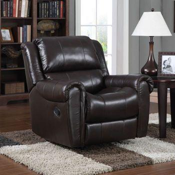 Costco Essex Leather Recliner Rocker Recliner Chair Furniture