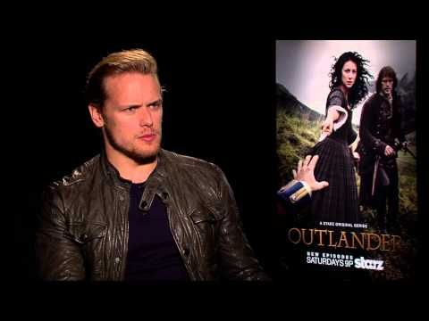 Sam Heughan of Outlander discusses his love/hate