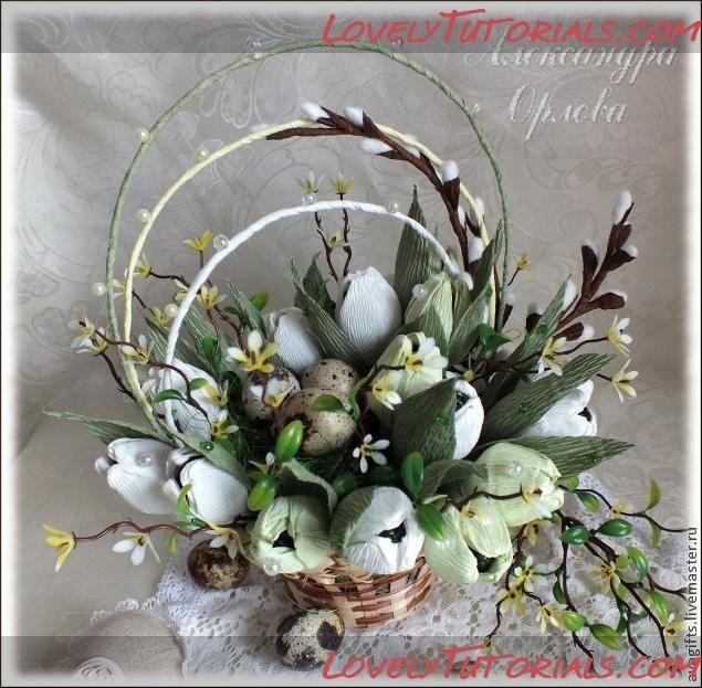 Palm Sunday Paper flowers tutorial