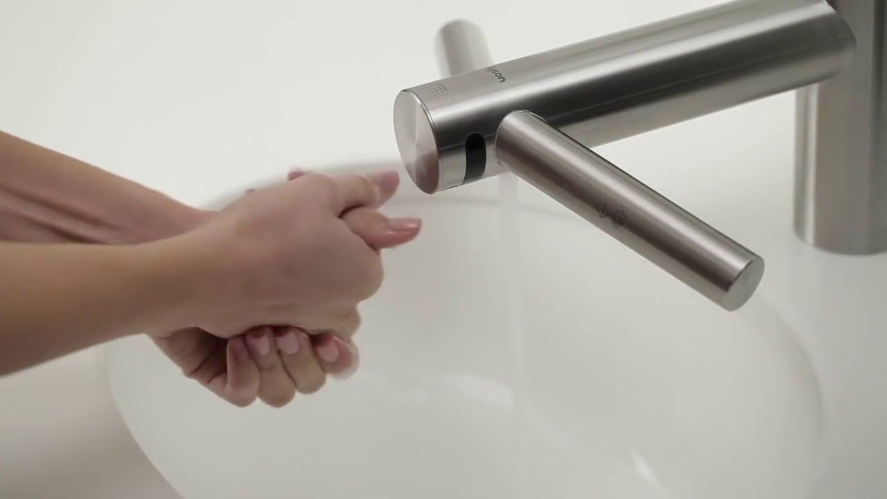 How to use the Dyson Airblade Tap hand dryer / DASK Services ...