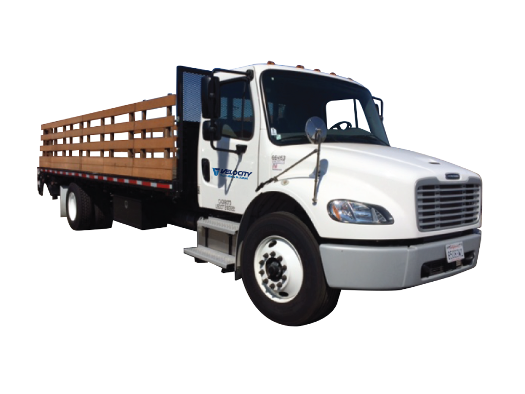 24' Stake bed truck (Non CDL) 24 ft flatbed truck