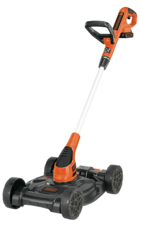 Black Decker 20v Max Li Ion 3 In 1 Trimmer Edger Mower Mtc220 New Cordless Lawn Mower Mower Lawn Mowers