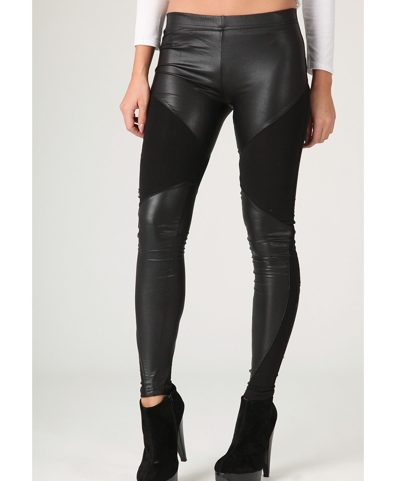 a19bdac79509f Sawyer Leather Panel Leggings | Clothes | Pinterest | Leather panel ...