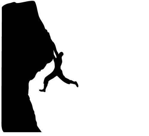 """Rock Climbing Wall Decal 60/""""x15/"""" Large Bedroom Mural Large 277"""