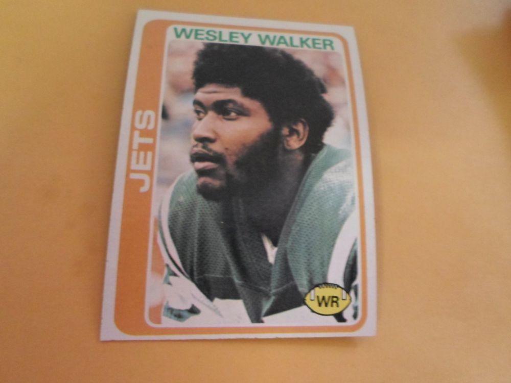 1978 TOPPS WESLEY WALKER #327