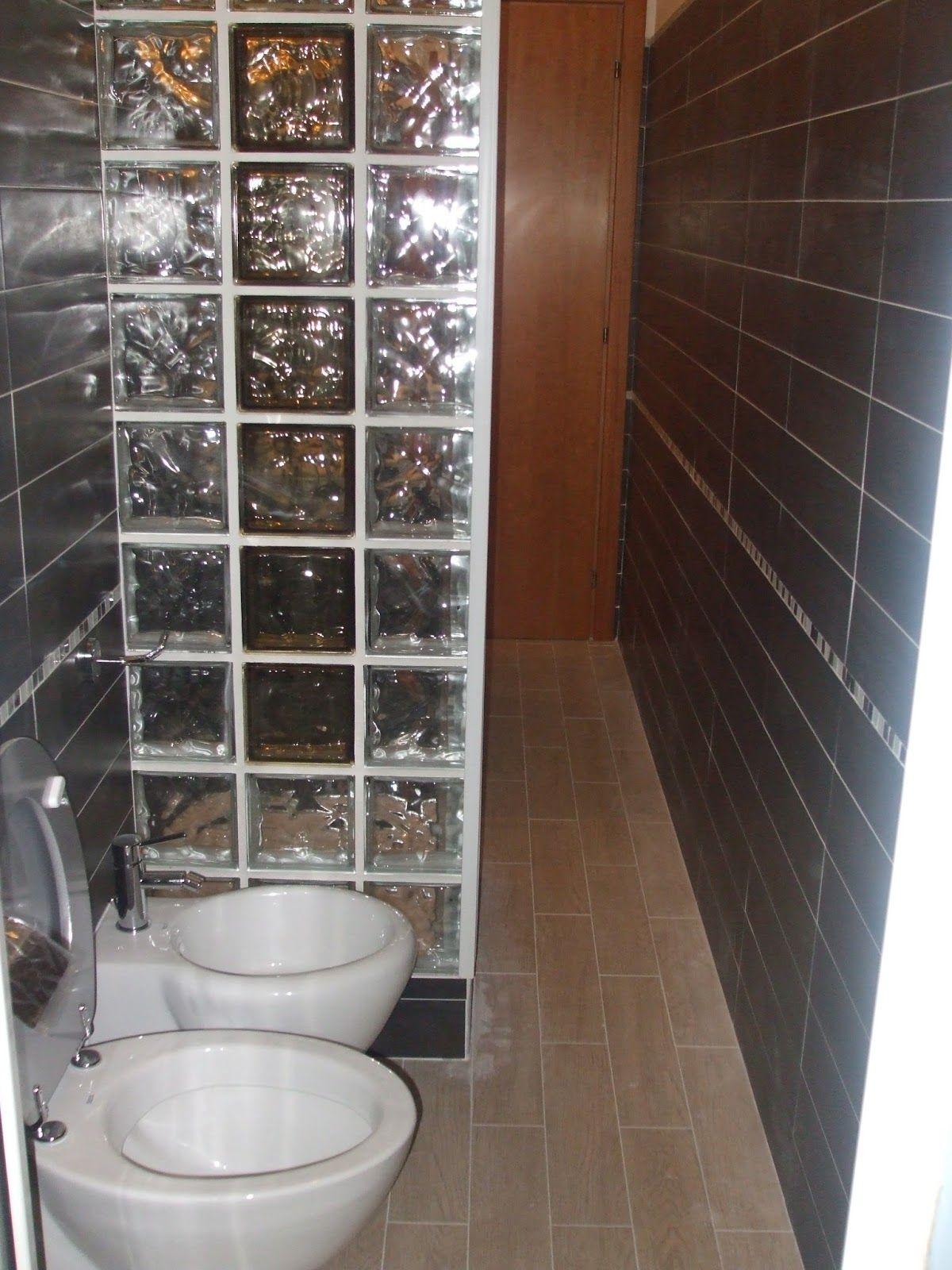 Risultati immagini per doccia separata con vetrocemento bagni pinterest searching - Box doccia vetrocemento ...