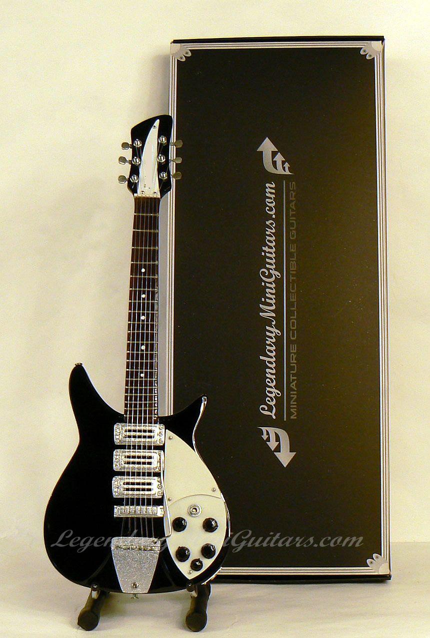 John Lennon Beatles Ed Sullivan Show Mini Guitar Replica
