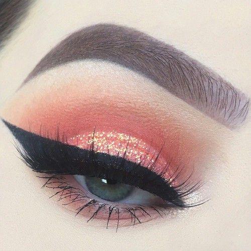 Resultado de imagen para coral makeup