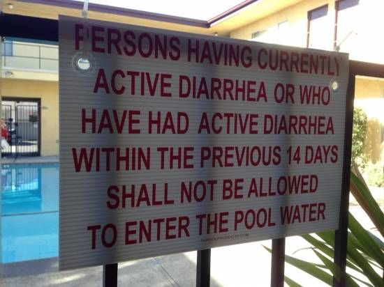 Friend's new apartment pool rules went up today  http://www.memeshub.com/?p=12708