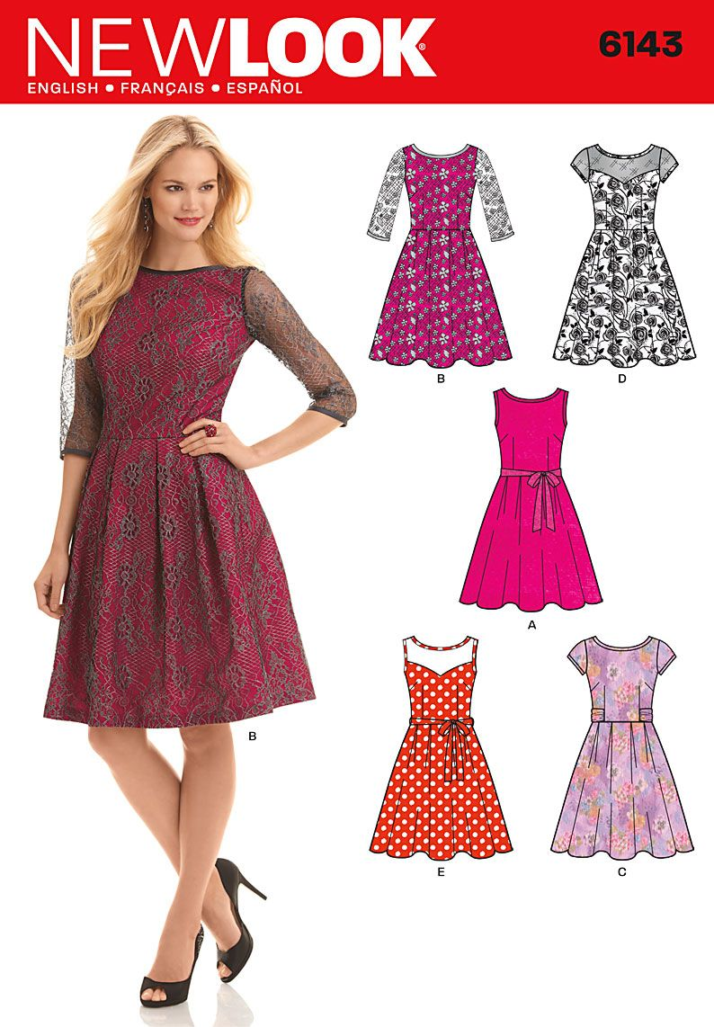 Simplicity Creative Group - Misses\' Dress   sewing   Pinterest ...
