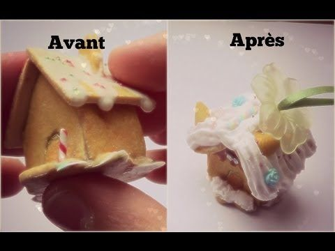 how to: miniature gingerbread house