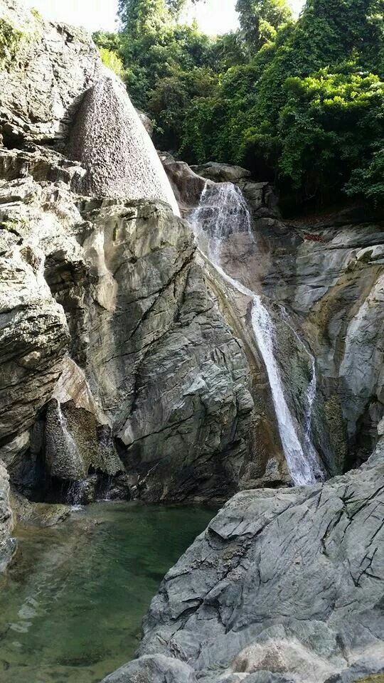 Kinahulogan Falls - Lagonoy, Camarines Sur, Philippines
