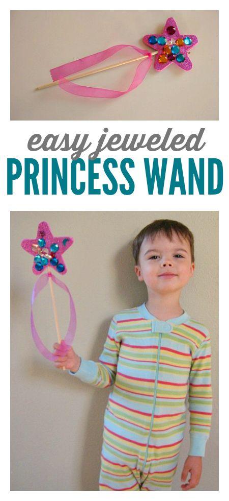 Princess wand for boys or girls
