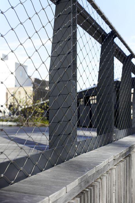 The High Line New York Webnet Mesh Balustrade Tensile