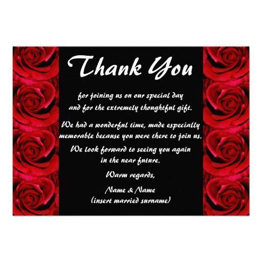 Wedding Thank You Card Wording For Money: Wedding Thank You Wording Cash