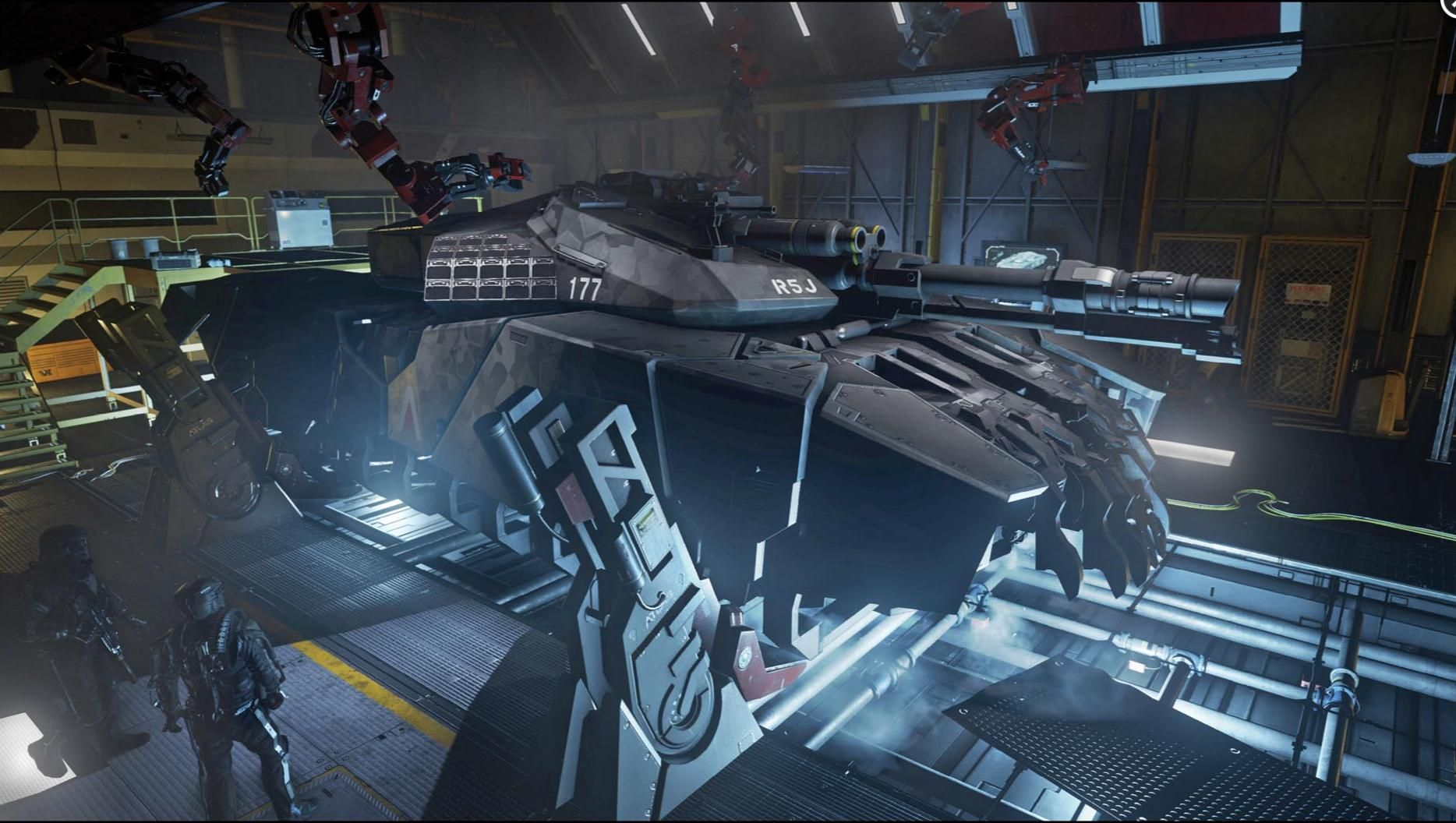 Call of Duty Advanced Warfare Spider tank Sci fi