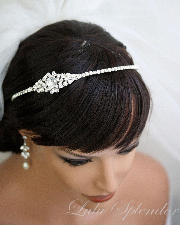 Best 25 Headband Wedding Hair Ideas On Pinterest