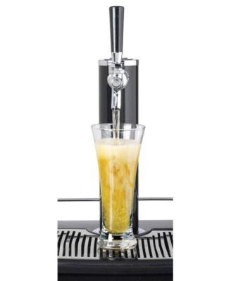 Nostalgia 5 1 Cubic Foot Full Size Kegorater Stainless Steel Draft Beer Dispenser Silver Draft Beer Dispenser Beer Dispenser Draft Beer