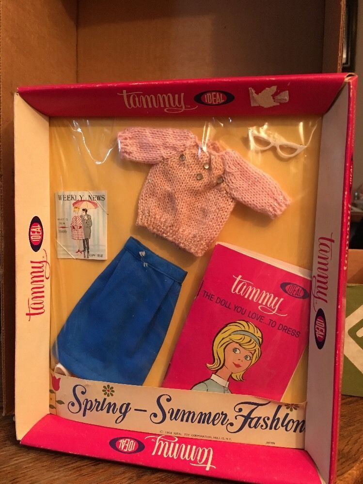 1960's Tammy Doll Clothes By Ideal #IDEAL