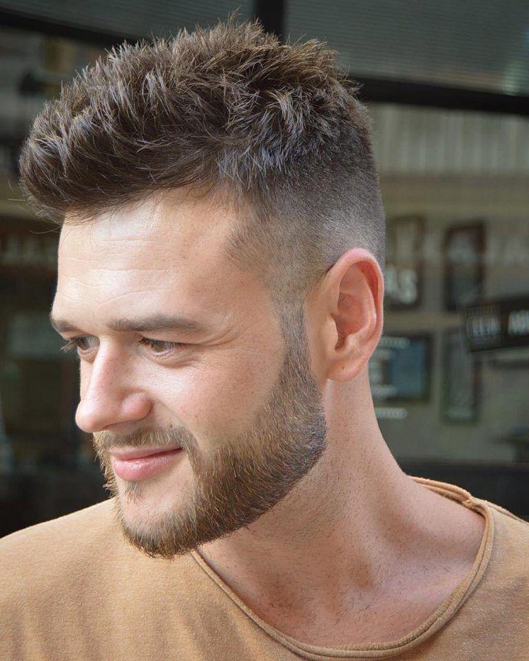 Classic Short Mens Haircut Beard Hairstyles In 2018 Pinterest