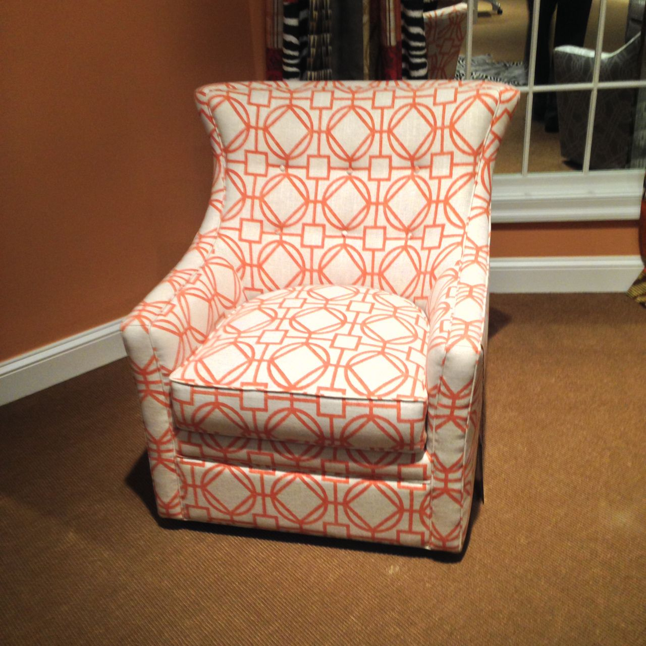 Delta Swivel Rocker Chair | Jessica Charles | Toms Price Furniture