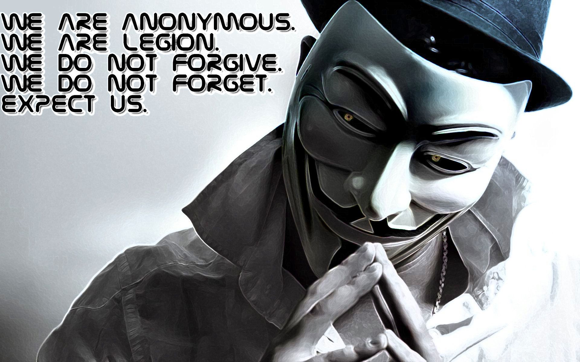 Anonymous Desktop Background 1920×1200 High Definition