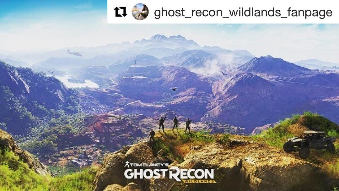 Ghostreconwildlands Will Introduce The Biggest Open World Map