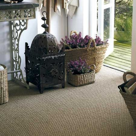 Sisal is also a natural, sustainable and eco-friendly flooring option, and one made from plants of the Agave species. This organic flooring is extremely hard-wearing and excellent for the home where family members suffer from allergies, since it is resistant to dust mites. It is also tough and resists pressure dents from furniture.