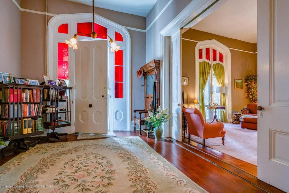 1857 gothic revival in holly springs mississippi