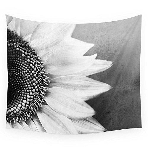 "Society6 B&W Sunflower Wall Tapestry Small: 51"" x 60"" Soc... https://www.amazon.com/dp/B017O83GF6/ref=cm_sw_r_pi_dp_-MdCxb3S8F0ZZ"