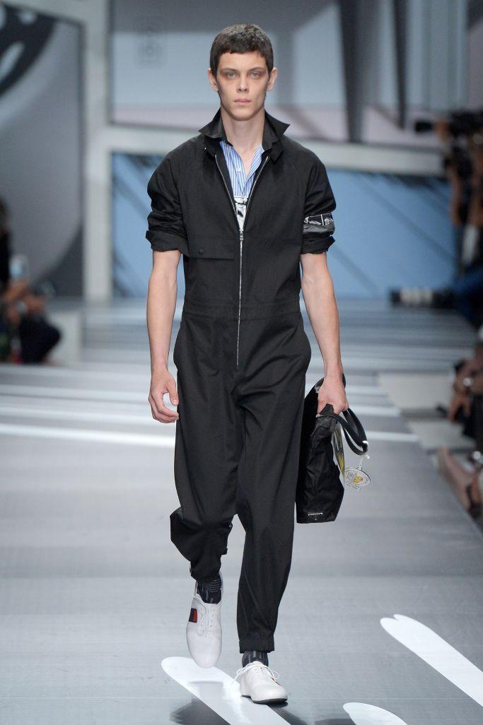 4657915d1207a8 Prada Men's Spring 2018 – WWD | buy | Prada men, High fashion men ...